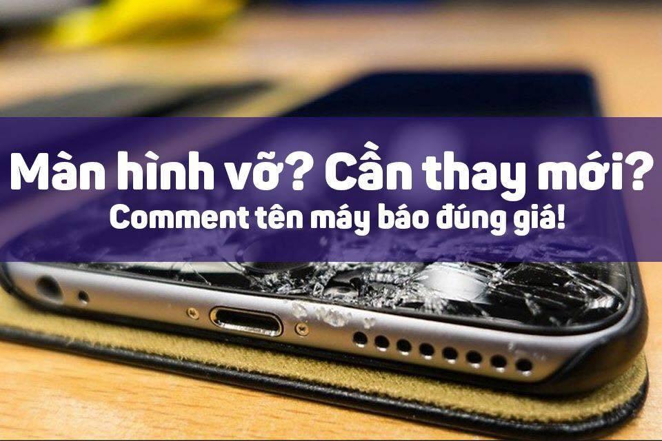 giá thay màn hình iphone
