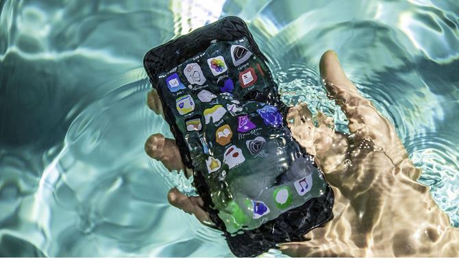 sửa iphone bị rớt nước
